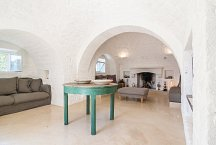 Trullo Tempesta_living area