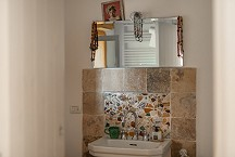 La Torretta bathroom with shower