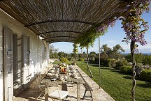 Masseria Petrarolo_breakfast terrace