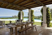 Masseria Petrarolo_pool terrace